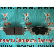 Колодки тормозные задние Cruze (51W05) аналог 13411380. 1605262. 1605180