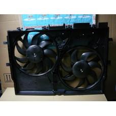 Вентилятор охлаждения двигателя с диффузором (8EW351041431) аналог 1250H4. 1250G8. 1358012080