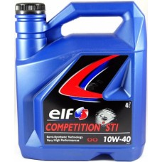 "Elf ""COMPETITION STI 10W-40"" OIL710"