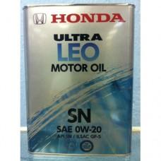 "Honda ""Ultra LEO-SN 0W-20"" 0821799974"
